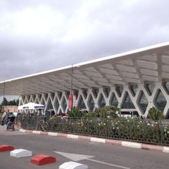 Photo taken at Aéroport de Marrakech Ménara | مطار مراكش المنارة‎  (RAK) by Андрей Г. on 11/17/2012