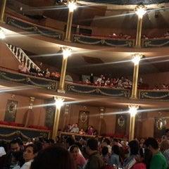 Photo taken at Teatro Abril by Gustavo R. on 8/17/2014