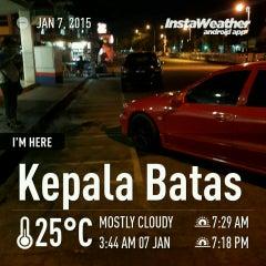 Photo taken at Kepala Batas by ushiee on 1/6/2015
