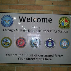 Photo taken at Chicago MEPS by Michael G. on 3/4/2013