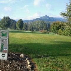 Photo taken at The Waynesville Inn Golf Resort & Spa by David T. on 9/20/2012