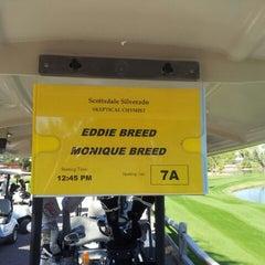 Photo taken at Silverado Golf Course by Monique S. on 11/9/2013