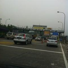 Photo taken at Gerbang Tol Pasar Rebo by Septianus S. on 11/3/2012