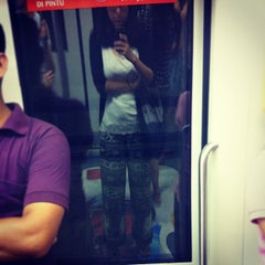 Photo taken at Potong Pasir MRT Station (NE10) by Maggie W. on 2/9/2013