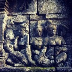 Photo taken at Candi Borobudur (Borobudur Temple) by Maggie W. on 2/4/2013