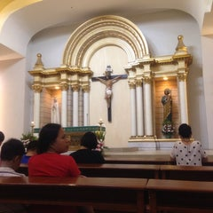 Photo taken at Chapel of the Eucharistic Lord by Marie Alminna F. on 7/14/2013
