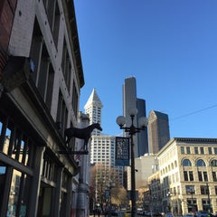 Photo taken at Pioneer Square by Kerry M. on 3/29/2016