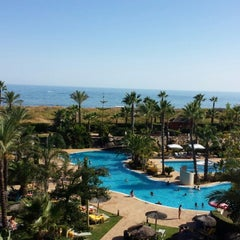 Photo taken at Puerto Antilla Grand Hotel by María G. on 8/20/2013