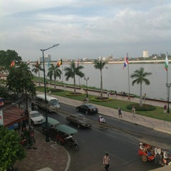 Photo taken at FCC Phnom Penh by Jaime L. on 12/22/2012