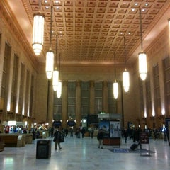 Photo taken at 30th Street Station by Christopher R. on 3/1/2013