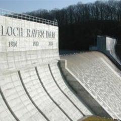 Photo taken at Loch Raven Dam by Steven M. on 12/21/2012
