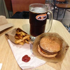 Photo taken at A&W by Leo W. on 6/12/2013