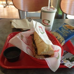 Photo taken at Quiznos by Leo W. on 3/29/2013