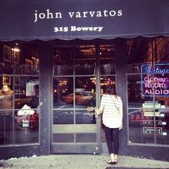Photo taken at John Varvatos Bowery NYC by Jordan S. on 7/6/2013