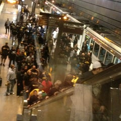Photo taken at Port Authority North Side Station by PSU-Lion D. on 10/7/2013