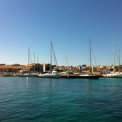 Photo taken at Porto Turistico Marina Di Favignana by Giorgia S. on 6/8/2013