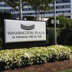 Photo taken at Washington Plaza Hotel by Muhannad A. on 10/12/2012