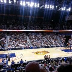 Photo taken at Mohegan Sun Arena by Irma I. on 9/23/2012