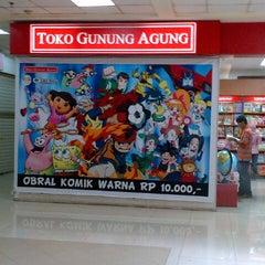 Photo taken at Toko Gunung Agung by Paulus T. on 11/17/2012