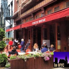 Photo taken at Cercle Rouge by In NYC on 5/26/2013