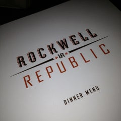 Photo taken at Rockwell Republic by Jeremy K. on 3/24/2013
