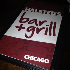 Photo taken at Halsted's Bar + Grill by Jeremy K. on 11/10/2013