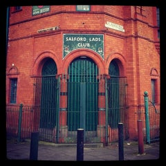 Photo taken at Salford Lads Club by Richard L. on 4/8/2014