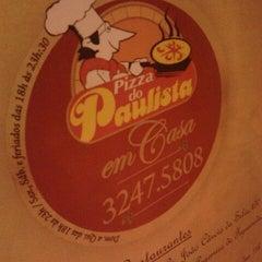 Photo taken at Pizza do Paulista by Raianna S. on 10/7/2012