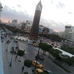 Photo taken at Place 14 Janvier by Firas Y. on 5/10/2013