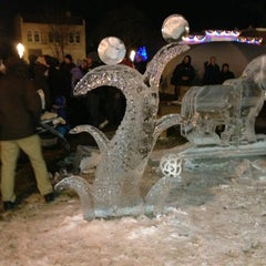 Photo taken at Downtown Plymouth by Mitchell R. on 1/19/2013