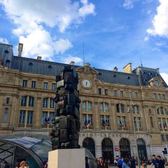 Photo taken at Gare SNCF de Paris Saint-Lazare by MikaelDorian on 8/17/2014