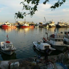 Photo taken at Tekirdağ Sahil by Okay ç. on 4/28/2013