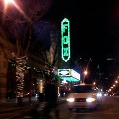 Photo taken at The Fox Theatre by James O. on 1/1/2013
