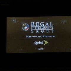 Photo taken at Regal Cinemas Hyattsville Royale 14 by Mr.Edward A. on 1/8/2013