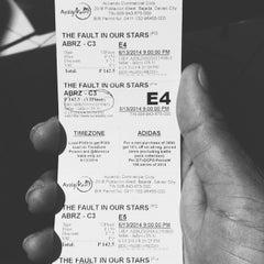 Photo taken at Cinema 3 by Carlito L. on 6/13/2014
