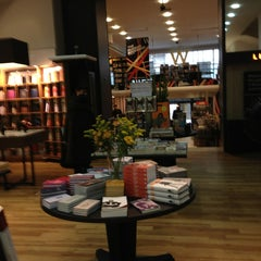 Photo taken at Waterstones by Anna on 1/15/2013