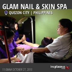 Photo taken at Glam Nails by ging💟 d. on 10/27/2013