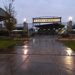 Photo taken at Hayward Field by Lynn C. on 11/20/2014