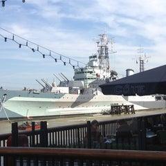 Photo taken at London Bridge City Pier by Joaquin P. on 9/15/2012