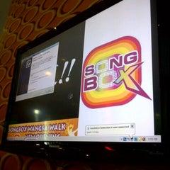 Photo taken at Song Box Karaoke by Myra S. on 5/1/2013