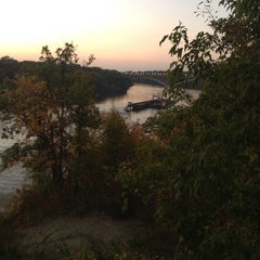 Photo taken at West River Parkway by Nancy H. on 9/26/2014