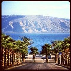 Photo taken at Sea of Galilee - Kinneret (כנרת) by Kiti 💕💖 D. on 7/15/2013