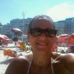 Photo taken at Barraca do Ray 149 - Copacabana by Mônica S. on 12/26/2012