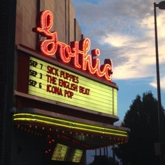 Photo taken at The Gothic Theatre by Brandon H. on 9/4/2013
