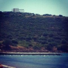 Photo taken at Ακρωτήρι Σουνίου (Cape Sounion) by Stefanie B. on 5/2/2013