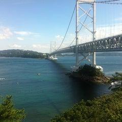 Photo taken at 大鳴門橋 by てつろう on 10/5/2012