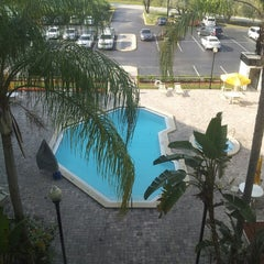 Photo taken at Holiday Inn Express & Suites Tampa/Rocky Point Island by Rahul U. on 4/26/2013