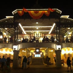 Photo taken at Walt Disney World Railroad - Main Street Station by Michael G. on 11/4/2012