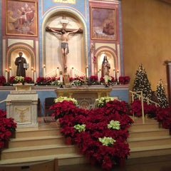 Photo taken at St. Francis Of Assisi Church by Ashur T. on 12/25/2013