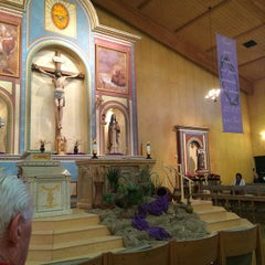 Photo taken at St. Francis Of Assisi Church by Ashur T. on 2/19/2015